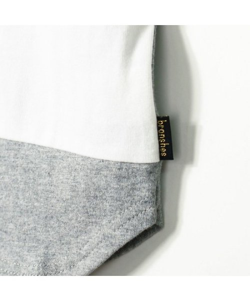 branshes(ブランシェス)/ワイドボーダー切替半袖Tシャツ(90~150cm)/119206393_img10