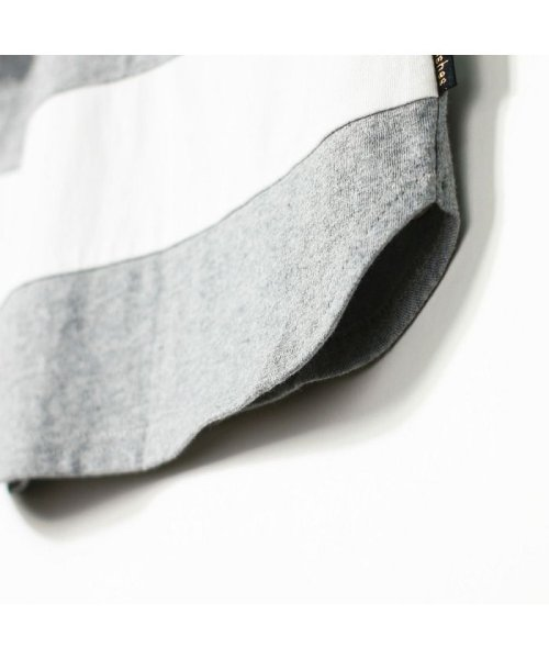 branshes(ブランシェス)/ワイドボーダー切替半袖Tシャツ(90~150cm)/119206393_img11