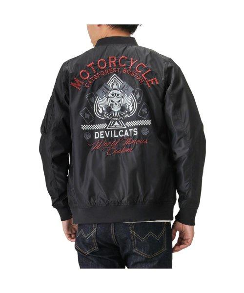 MAC HOUSE(men)(マックハウス(メンズ))/Devilcats MOTORCYCLE MA-1 32194301/01111000744_img03