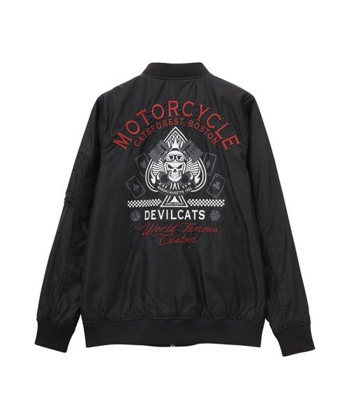 MAC HOUSE(men)(マックハウス(メンズ))/Devilcats MOTORCYCLE MA-1 32194301/01111000744_img09