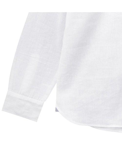 MAC HOUSE(men)(マックハウス(メンズ))/Free Nature Linen レギュラーシャツ 391102MH/01211001124_img02