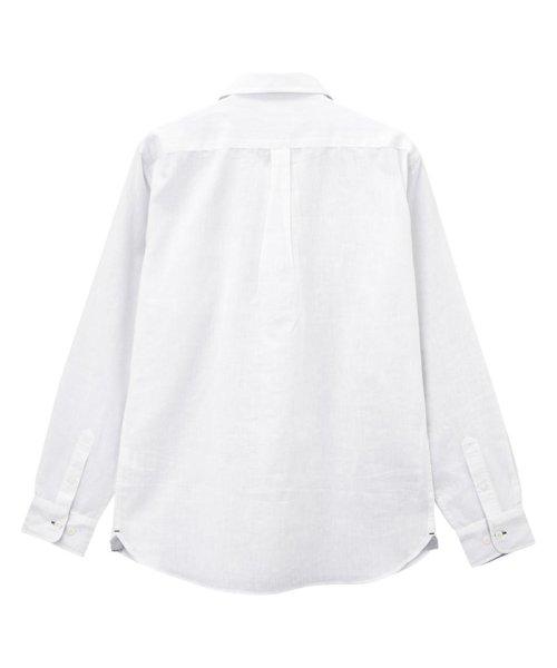 MAC HOUSE(men)(マックハウス(メンズ))/Free Nature Linen レギュラーシャツ 391102MH/01211001124_img03