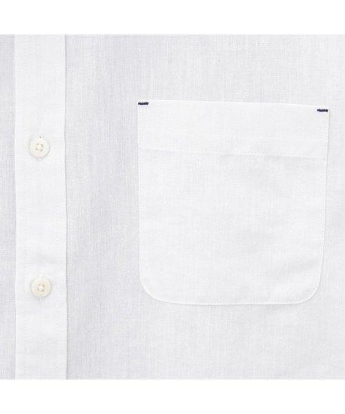 MAC HOUSE(men)(マックハウス(メンズ))/Free Nature Linen レギュラーシャツ 391102MH/01211001124_img04