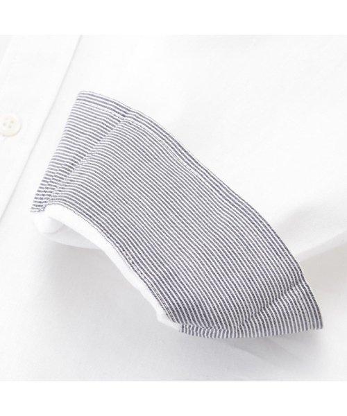 MAC HOUSE(men)(マックハウス(メンズ))/Free Nature Linen レギュラーシャツ 391102MH/01211001124_img07