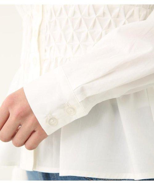 rienda(リエンダ)/スモッキングペプラムシャツトップス/110CS630-1250_img06