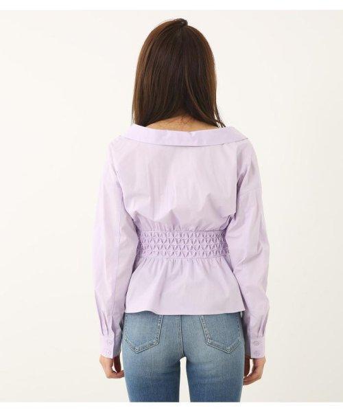rienda(リエンダ)/スモッキングペプラムシャツトップス/110CS630-1250_img09