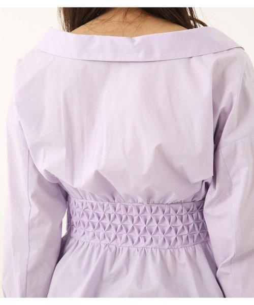 rienda(リエンダ)/スモッキングペプラムシャツトップス/110CS630-1250_img13