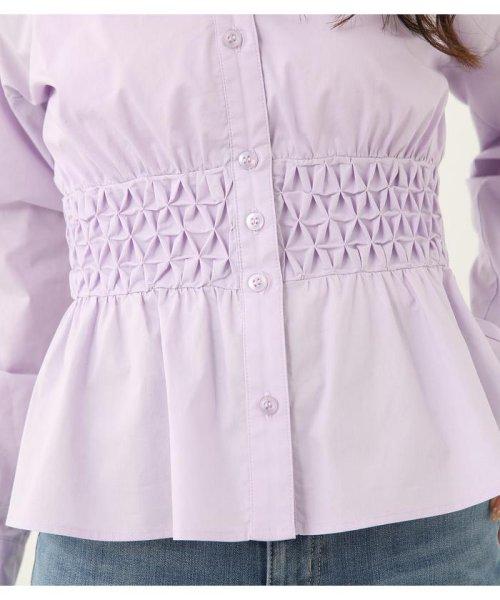 rienda(リエンダ)/スモッキングペプラムシャツトップス/110CS630-1250_img14