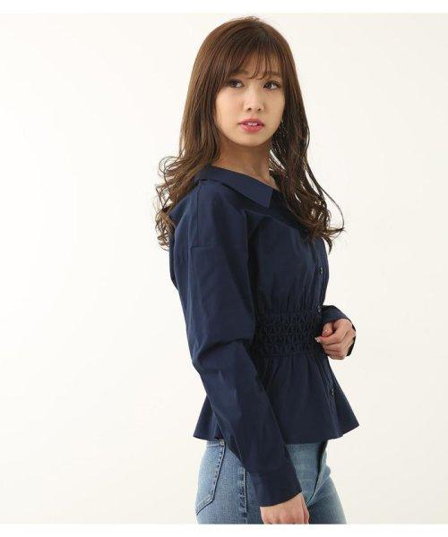 rienda(リエンダ)/スモッキングペプラムシャツトップス/110CS630-1250_img16