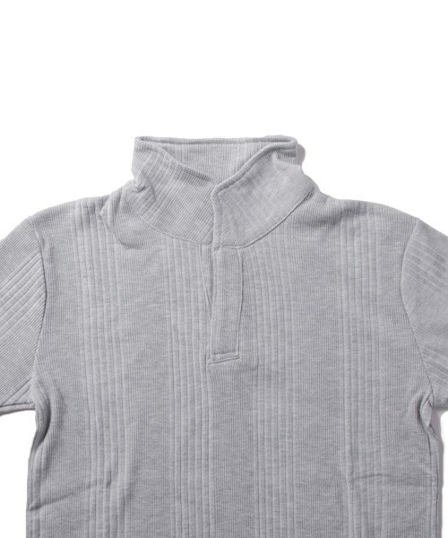 THE CASUAL(ザ カジュアル)/(スプ) SPU ランダムテレコ襟ワイヤースキッパー半袖ポロシャツ/buy190197_img10