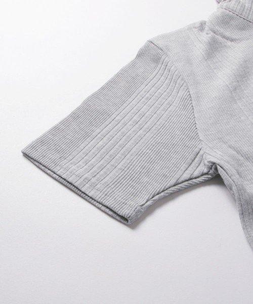 THE CASUAL(ザ カジュアル)/(スプ) SPU ランダムテレコ襟ワイヤースキッパー半袖ポロシャツ/buy190197_img12