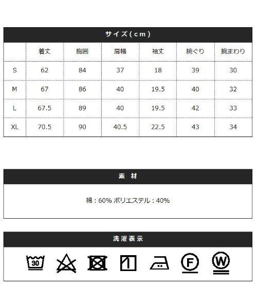 THE CASUAL(ザ カジュアル)/(スプ) SPU ランダムテレコ襟ワイヤースキッパー半袖ポロシャツ/buy190197_img18