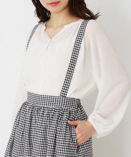 pink adobe(ピンクアドベ)/サス付きロングギャザースカート/20190176376211_img04