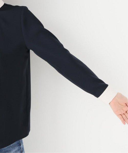 La TOTALITE(ラ トータリテ)/《追加》ラウンドバイカラーシャツ◆/19051140914120_img08