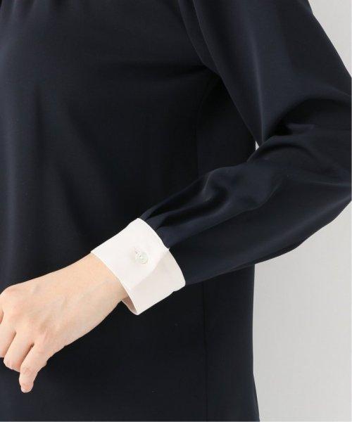 La TOTALITE(ラ トータリテ)/《追加》ラウンドバイカラーシャツ◆/19051140914120_img09