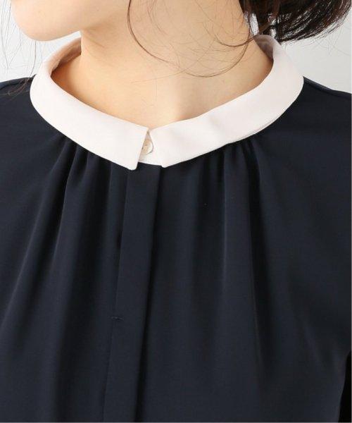 La TOTALITE(ラ トータリテ)/《追加》ラウンドバイカラーシャツ◆/19051140914120_img11