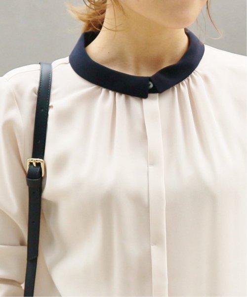 La TOTALITE(ラ トータリテ)/《追加》ラウンドバイカラーシャツ◆/19051140914120_img20