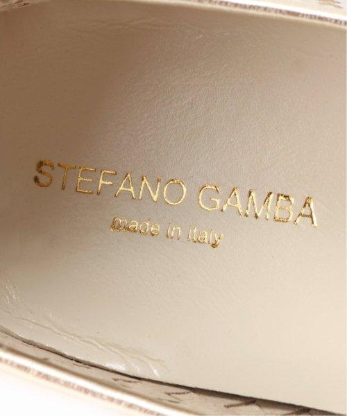 Le Talon(ル タロン)/STEFANO GAMBA レザーメッシュラウンドフラット/19093825000510_img07
