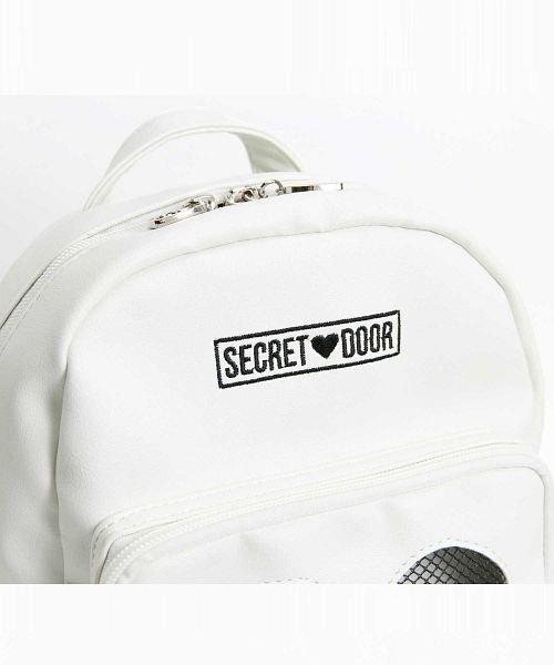 SECRET DOOR(シークレットドア)/ハートメッシュリュックマシュマロ4/331674_img04