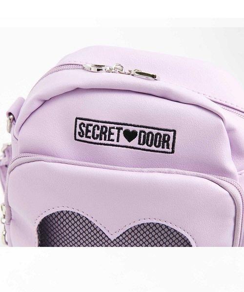 SECRET DOOR(シークレットドア)/ハートメッシュショルダーバッグマシュマロ4/331675_img02