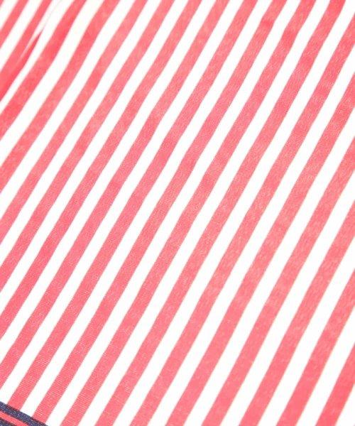 OFUON(オフオン)/ストライプデザインミニスカーフ/EY3EG04029_img02