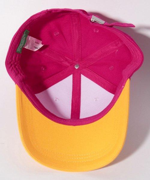 BENETTON (women)(ベネトン(レディース))/コットンマルチカラーキャップ・帽子/19P6G0PD41K9_img04