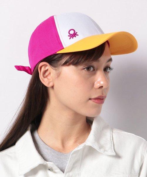 BENETTON (women)(ベネトン(レディース))/コットンマルチカラーキャップ・帽子/19P6G0PD41K9_img06