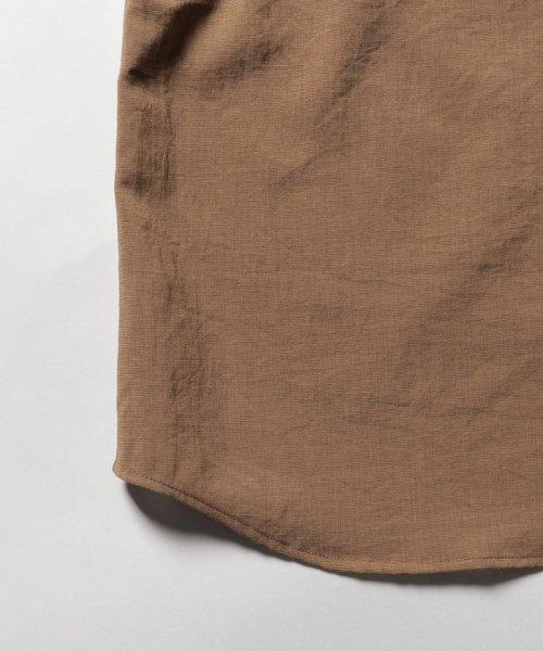 NOLLEY'S goodman(ノーリーズグッドマン)/バンドカラーZIP UPシャツブルゾン/9-0086-1-71-040_img04