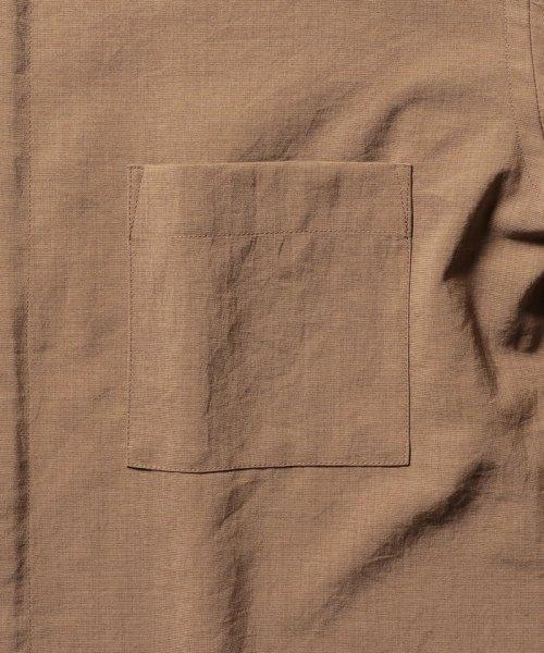 NOLLEY'S goodman(ノーリーズグッドマン)/バンドカラーZIP UPシャツブルゾン/9-0086-1-71-040_img05