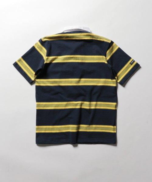 NOLLEY'S goodman(ノーリーズグッドマン)/【BARBARIAN/バーバリアン】別注 半袖ラガーシャツ(GCSS)/9-0658-1-73-001_img01