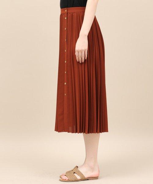 ROPE' mademoiselle(ロペ マドモアゼル)/サイドボタンプリーツスカート/GWC49140_img04