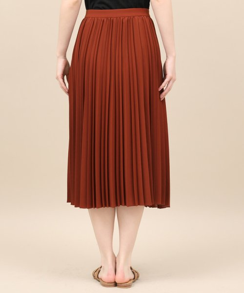 ROPE' mademoiselle(ロペ マドモアゼル)/サイドボタンプリーツスカート/GWC49140_img05