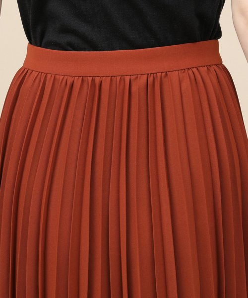 ROPE' mademoiselle(ロペ マドモアゼル)/サイドボタンプリーツスカート/GWC49140_img06