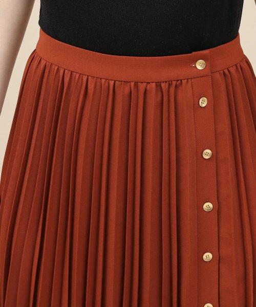 ROPE' mademoiselle(ロペ マドモアゼル)/サイドボタンプリーツスカート/GWC49140_img07