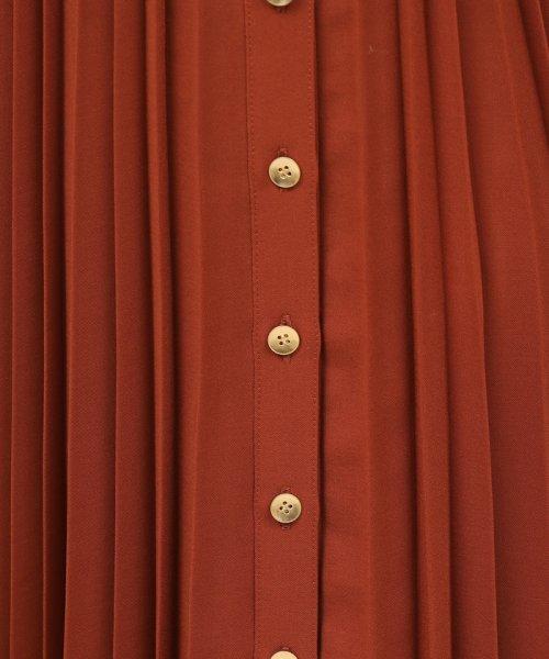 ROPE' mademoiselle(ロペ マドモアゼル)/サイドボタンプリーツスカート/GWC49140_img09