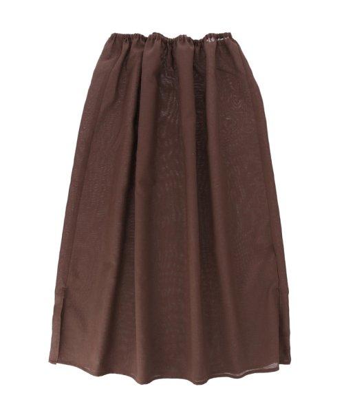ROPE' mademoiselle(ロペ マドモアゼル)/サイドボタンプリーツスカート/GWC49140_img10