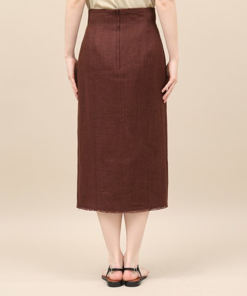 ROPE' mademoiselle(ロペ マドモアゼル)/リネンスリットタイトスカート/GWC49150_img05
