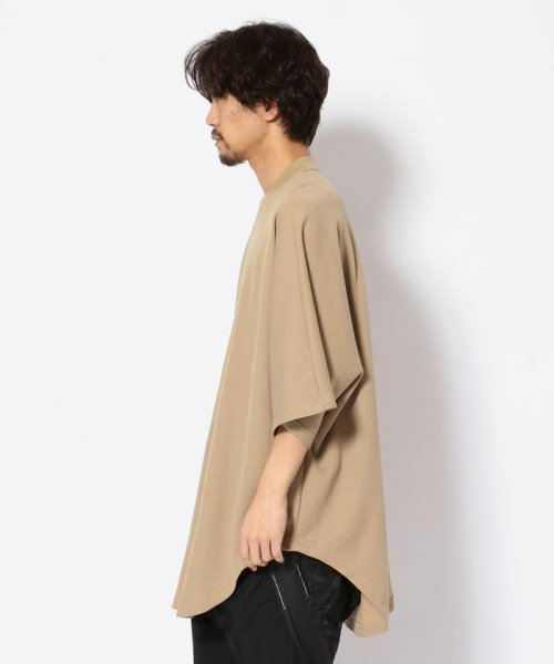 LHP(エルエイチピー)/NILoS/ニルズ/ TUCKED BIG T-SHIRT/660CUM7/552191046-60_img01