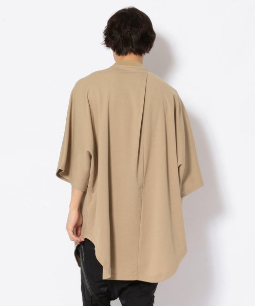 LHP(エルエイチピー)/NILoS/ニルズ/ TUCKED BIG T-SHIRT/660CUM7/552191046-60_img02