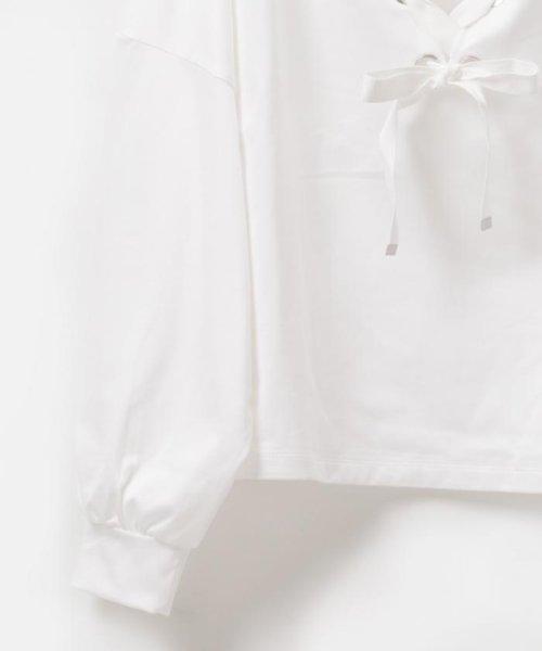 GRACE CONTINENTAL(グレースコンチネンタル)/【TVドラマ着用】レースアップルーズトップ/39242175_img08