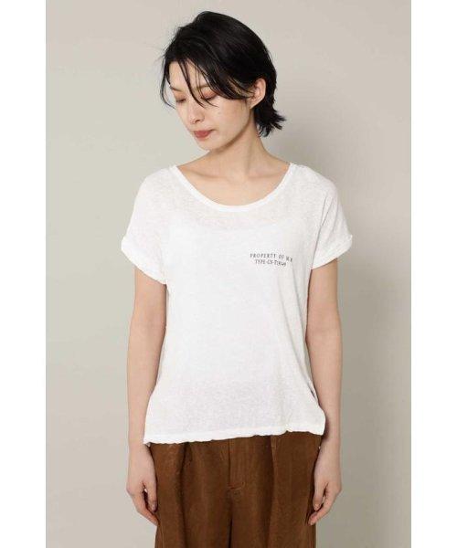 ROSE BUD(ローズバッド)/[7月号GISELe掲載]ロゴTシャツ/6009113052_img02