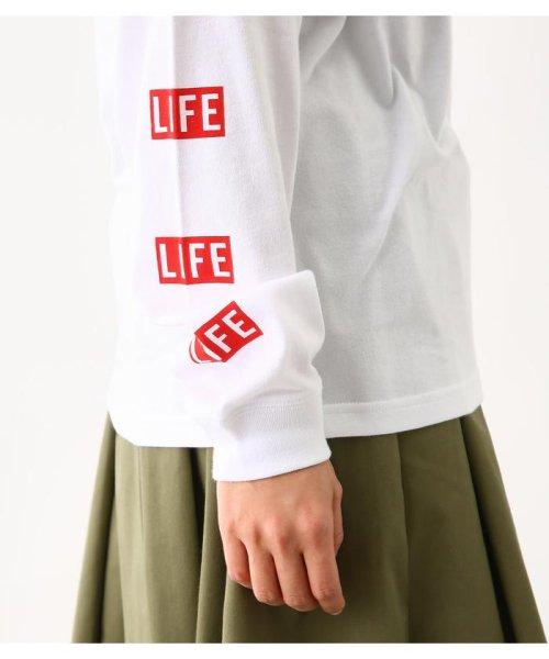 RODEO CROWNS WIDE BOWL(ロデオクラウンズワイドボウル)/LIFE サインロングスリーブ Tシャツ/420CSA01-0170_img07