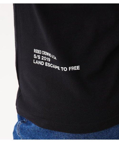 RODEO CROWNS WIDE BOWL(ロデオクラウンズワイドボウル)/LIFE サインロングスリーブ Tシャツ/420CSA01-0170_img14
