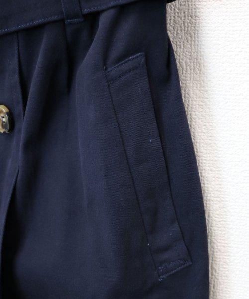 and Me...(アンドミー)/【H-9】ツイル タイトスカート 前ボタン ロングスカート/1000572_img11