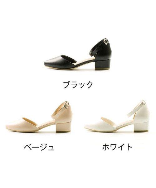 FOOT PLACE(フットプレイス)/レディース パンプス セパレート ストラップ MS-5391/MS-5391-SS_img02