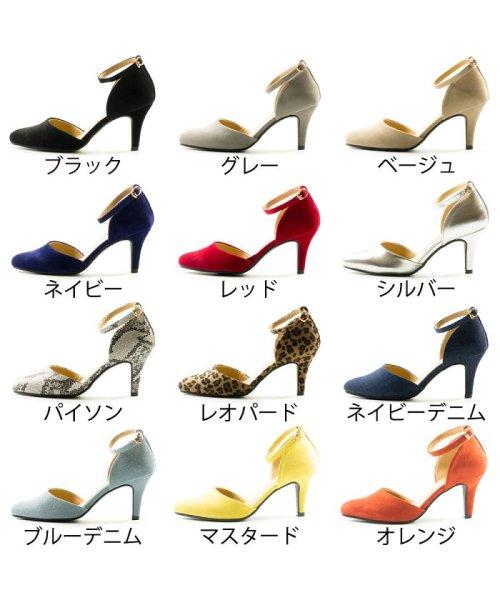 FOOT PLACE(フットプレイス)/レディース パンプス セパレート ストラップ MS-5430/MS-5430-SS_img02