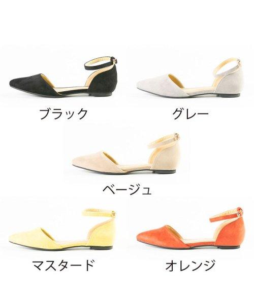 FOOT PLACE(フットプレイス)/レディース パンプス ローヒール ストラップ MS-5432/MS-5432-SS_img02