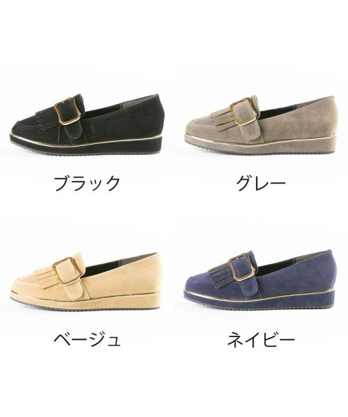 FOOT PLACE(フットプレイス)/レディース ローファー マニッシュ バックル MS-5481/MS-5481-SS_img02