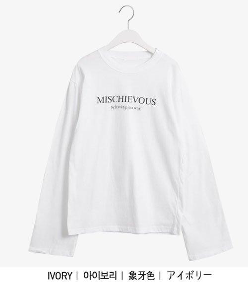 sonyunara(ソニョナラ)/SONYUNARA(ソニョナラ)mischievousTシャツ/son-19t-010-z_img05