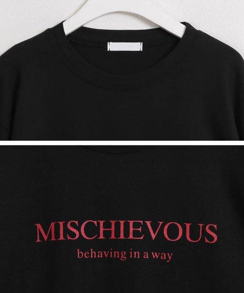 sonyunara(ソニョナラ)/SONYUNARA(ソニョナラ)mischievousTシャツ/son-19t-010-z_img07